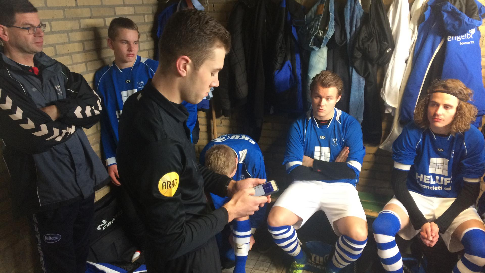 Update je mobiel voetbal.nl