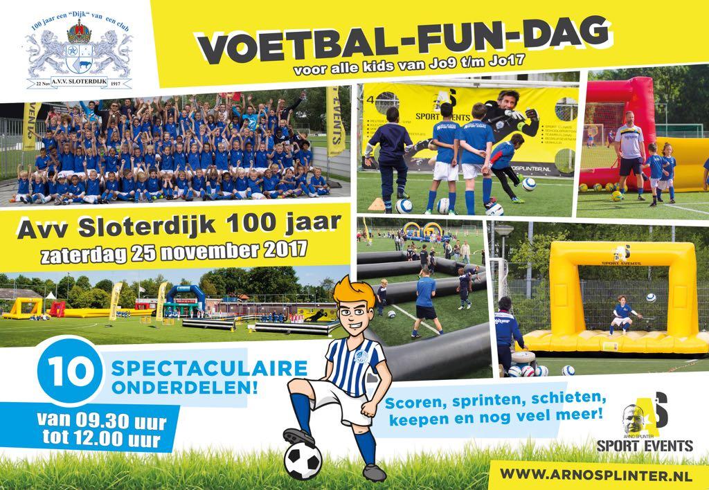 Jeugdvoetbal fun- dag