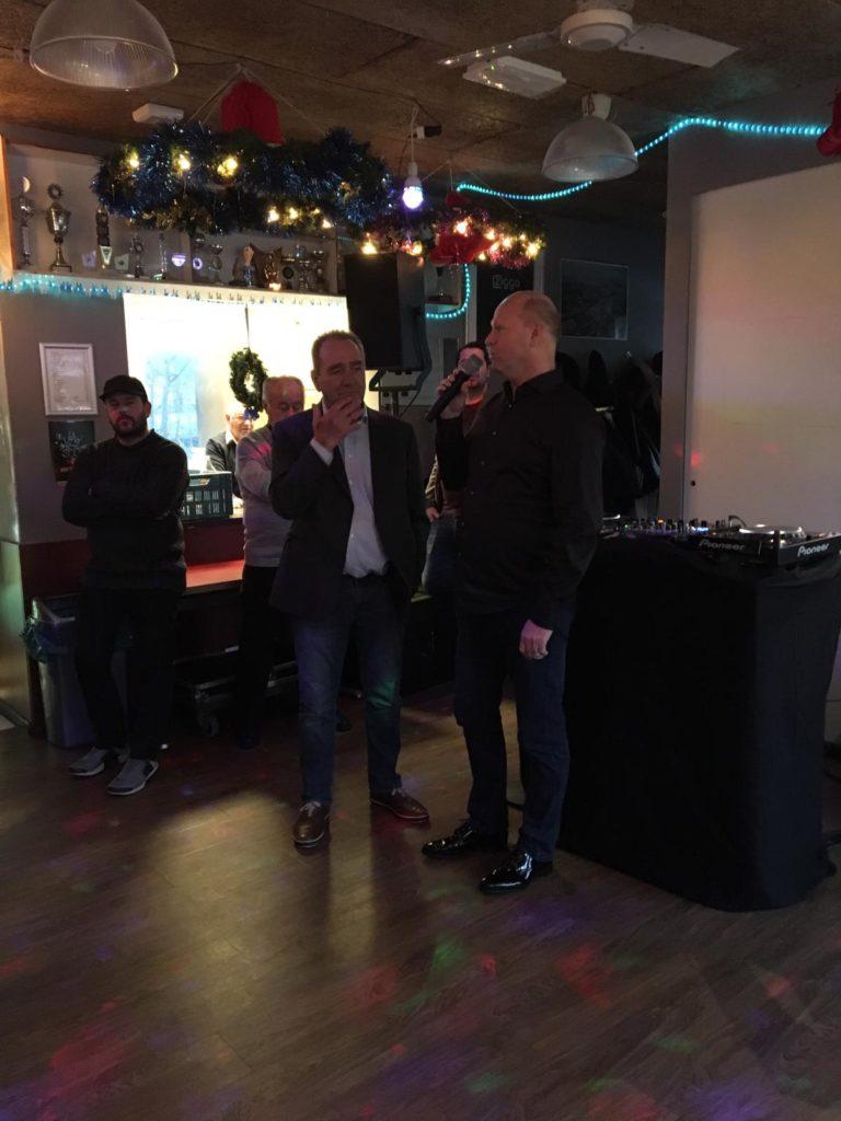 Piet Kostense uitgeroepen tot erevoorzitter van Sloterdijk